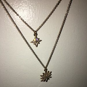 Golden star chocker set